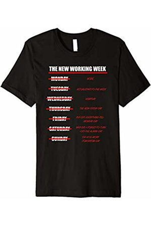 FM London The New Working Week Novelty T-Shirt