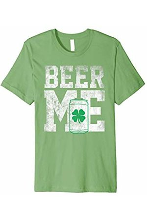 Hybrid Beer me green clover T-shirt