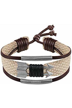 SECTOR GIOIELLI Men Stainless Steel Rope Bracelet - SALV07