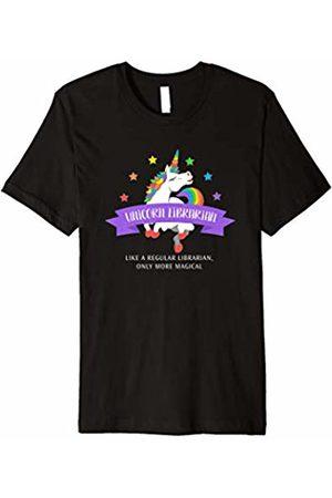 Triple G Mavs Unicorn Librarian Shirt Funny Cute Magical Gift