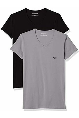Armani Men's 111512cc717 Short Sleeve T-Shirt,Pack of 2