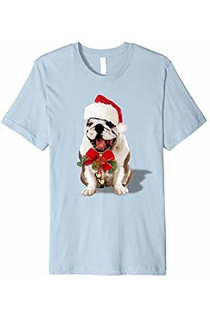 Hybrid Bulldog Santa T-shirt