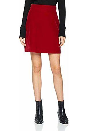 warehouse Women Skirts - Women's Velvet Pelmet Skirt, (Dark 61)