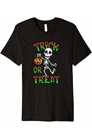 Hybrid Skeleton Trick or Treat Halloween T Shirt