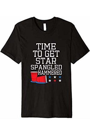 Hybrid Star Spangled 4th of July T-shirt