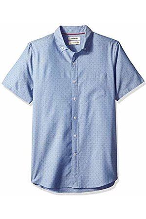 Goodthreads Men's Standard-Fit Short-Sleeve Dobby Shirt, - diamond