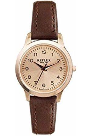 Reflex Womens Analogue Classic Quartz Watch with PU Strap REF0038