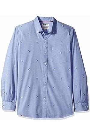 Goodthreads Men's Standard-Fit Long-Sleeve Dobby Shirt, - Stork