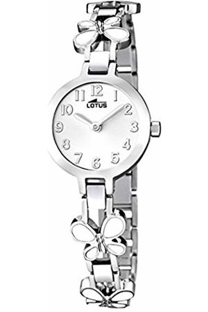 Lotus Girls Analogue Quartz Watch with Stainless Steel Strap 15829/1