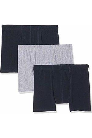 Name it Boy's Nkmtights 3p Solid Noos Boxer Shorts, Melange