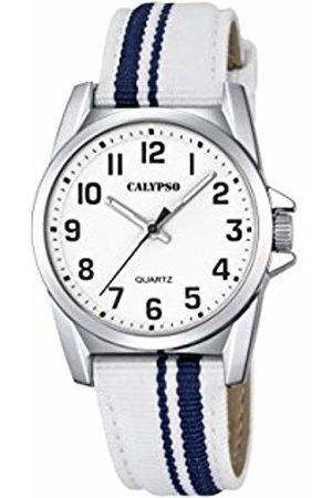Calypso Unisex-Child Analogue Classic Quartz Watch with Nylon Strap K5707/1