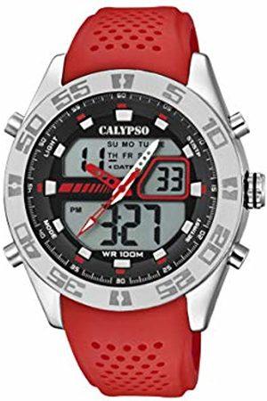 Calypso watches Mens Analogue-Digital Quartz Watch with Plastic Strap K5774/2