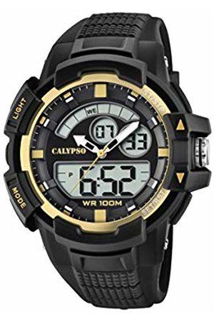 Calypso watches Unisex Adult Analogue-Digital Quartz Watch with Plastic Strap K5767/4