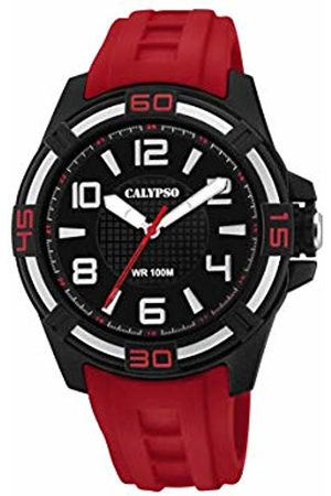 Calypso watches Unisex Adult Analogue Classic Quartz Watch with Plastic Strap K5760/3
