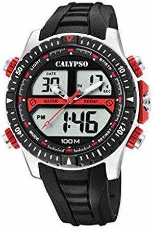 Calypso watches Mens Analogue-Digital Quartz Watch with Plastic Strap K5773/3