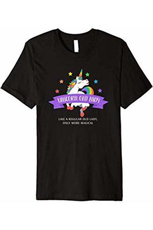 Triple G Mavs Unicorn Old Lady Shirt Funny Cute Magical Gift