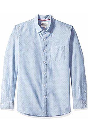 Goodthreads Men's Standard-Fit Long-Sleeve Dobby Shirt, - diamond