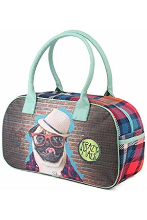 4c282ab157658e KARACTERMANIA Krazymals Pug-Bag Sports Bowling Bag, 40 cm, 14.5 litres
