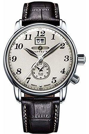 Zeppelin Men's Analogue Quartz Watch with Leather Strap – 76445