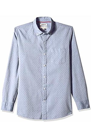 Goodthreads Men's Standard-Fit Long-Sleeve Dobby Shirt, - /multi diamond
