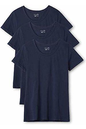 Berydale 3-Pack Women's T-Shirt Round Neck in, -Blau (Dunkelblau)