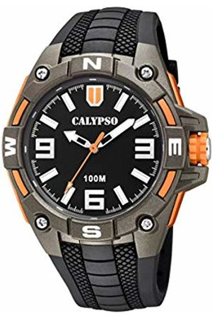 Calypso watches Men Watches - Mens Analogue Classic Quartz Watch with Plastic Strap K5761/4