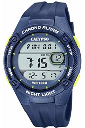 Calypso watches Mens Digital Quartz Watch with Plastic Strap K5765/5