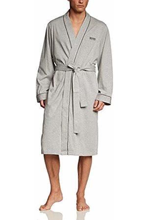 HUGO BOSS Men's Kimono Bathrobe, Grau (Medium 33)