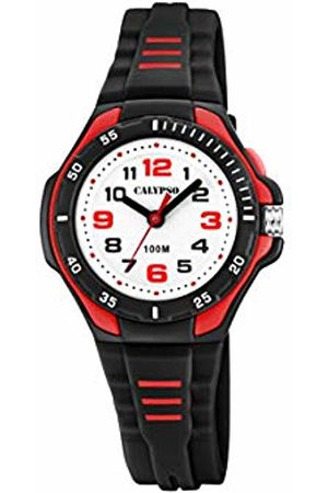 Calypso watches Unisex Child Analogue Classic Quartz Watch with Plastic Strap K5757/6