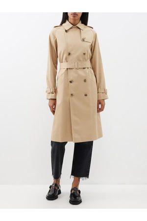 A.P.C Greta Cotton Twill Trench Coat - Womens