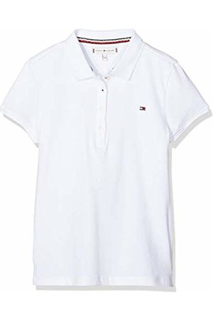 Tommy Hilfiger Girl's Essential Polo S/s Shirt, (Bright 123)