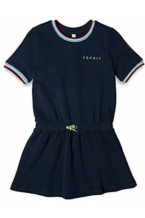 Esprit Kids Girl's Knit Dress Ss (Navy 470)