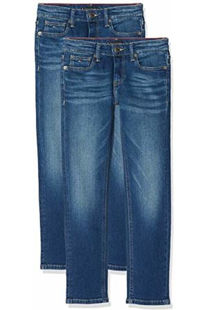 Tommy Hilfiger Boy's Scanton Slim Avmbst Jeans, (Avenue Mid Stretch 911)