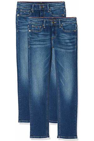 Tommy Hilfiger Boy's Scanton Slim Avmbst Jeans, (Avenue Mid Stretch 911)