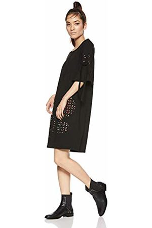 Desigual Women's Vest_alma Dress, (Negro 2000)