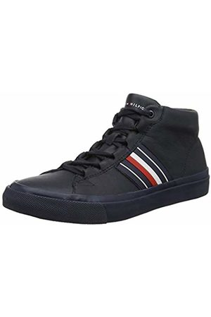 Tommy Hilfiger Men's Corporate Leather Mid Sneaker Low-Top
