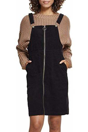 Urban classics Women Dungarees - Women's Ladies Corduroy Dungaree Dress ( 00007)