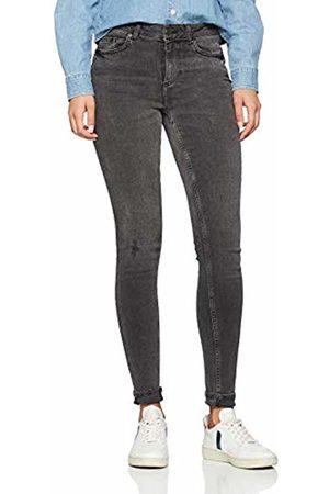 Pieces Women's Pcdelly Skn Mw Mg727-ba/noos Skinny Jeans, (Medium Denim)