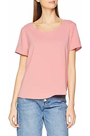 Vila Women's Vilaia S/s Top-Noos T-Shirt, Brandied Apricot