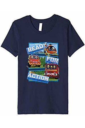 Fireman Sam Youth T-Shirt, Ready for Action