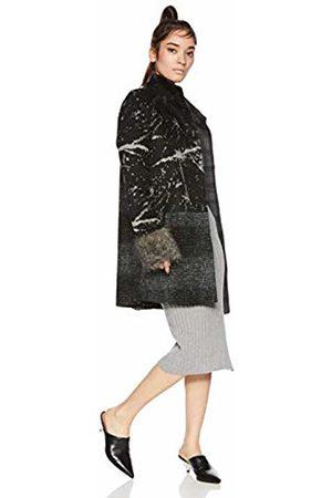 Desigual Women's Abrig_Charlotte Coat, (Negro 2000)