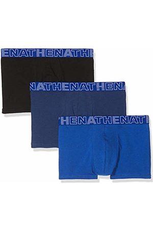 ATHENA Men's Basic Color Swim Trunks