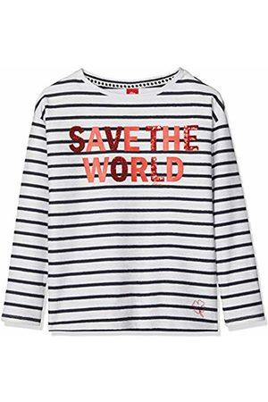 s.Oliver Girl's 66.901.41.4128 Sweatshirt, ( Melange Stripes 01g1)