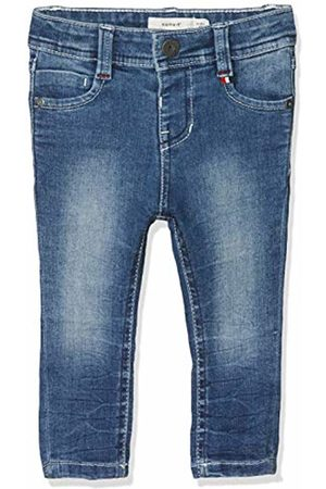 Name it Baby Boys' Nmmtheo Dnmtobias 2165 Pant Noos Trouser, (Medium Denim)
