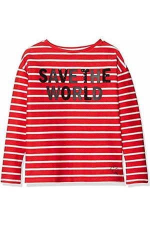 s.Oliver Girl's 66.901.41.4128 Sweatshirt, ( Stripes 31g1)