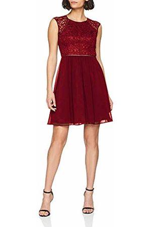 Vera Mont Women's 2560/5000 Dress, (Wine 4115)
