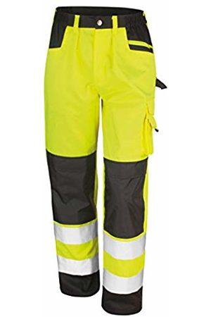 Result Men's Safe Guard Cargo Trousers (Flo )