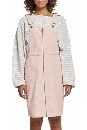 Urban classics Women's Ladies Corduroy Dungaree Dress