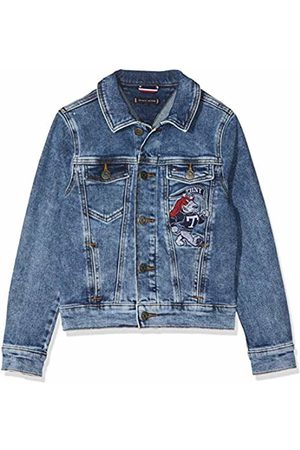 Tommy Hilfiger Boys Denim Jacket Easmbst (Eagle Salt Mid Stretch 911)