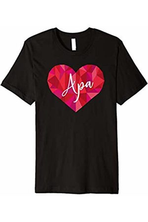 Triple G Mavs Apa Heart Shirt Low Poly Geometric Gift